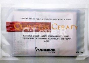 歯科メタルセラミック修復用貴金属材料 管理医療機器認証番号221ACBZX00042000 セミプレシャス系