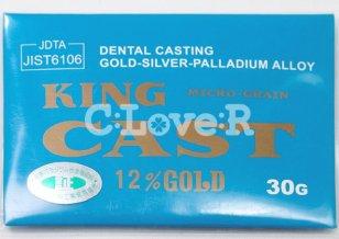 歯科鋳造用金銀パラジウム合金 管理医療機器認証番号219AFBZX00134000